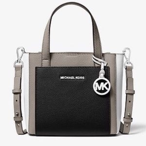 Michael Kors Tri-Color Leather cross-body bag!